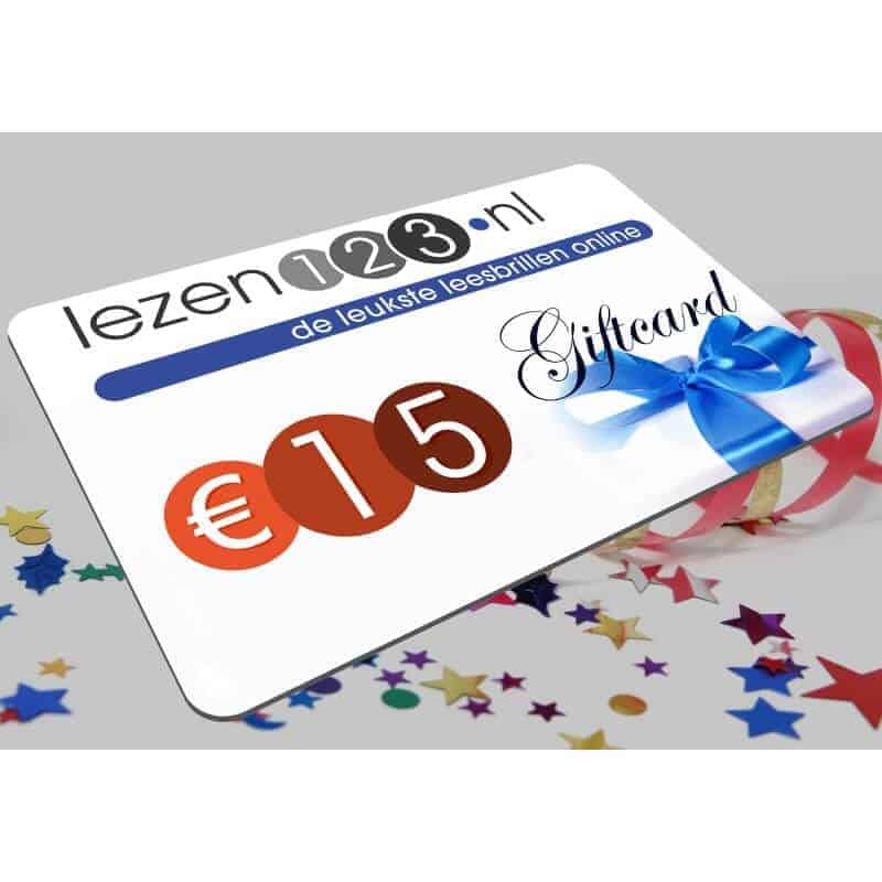 Giftcard 15 euro