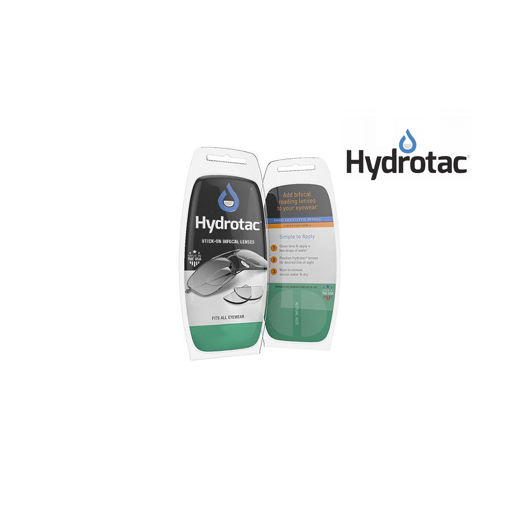 Hydrotac Stick-On bifocale lenzen