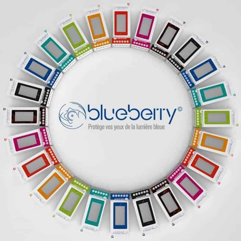 Blueberry Model M – zonder sterkte – Zwart
