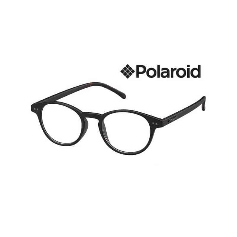 PLD0008.R.LL1 Polaroid Leesbril Rond – Black Havana