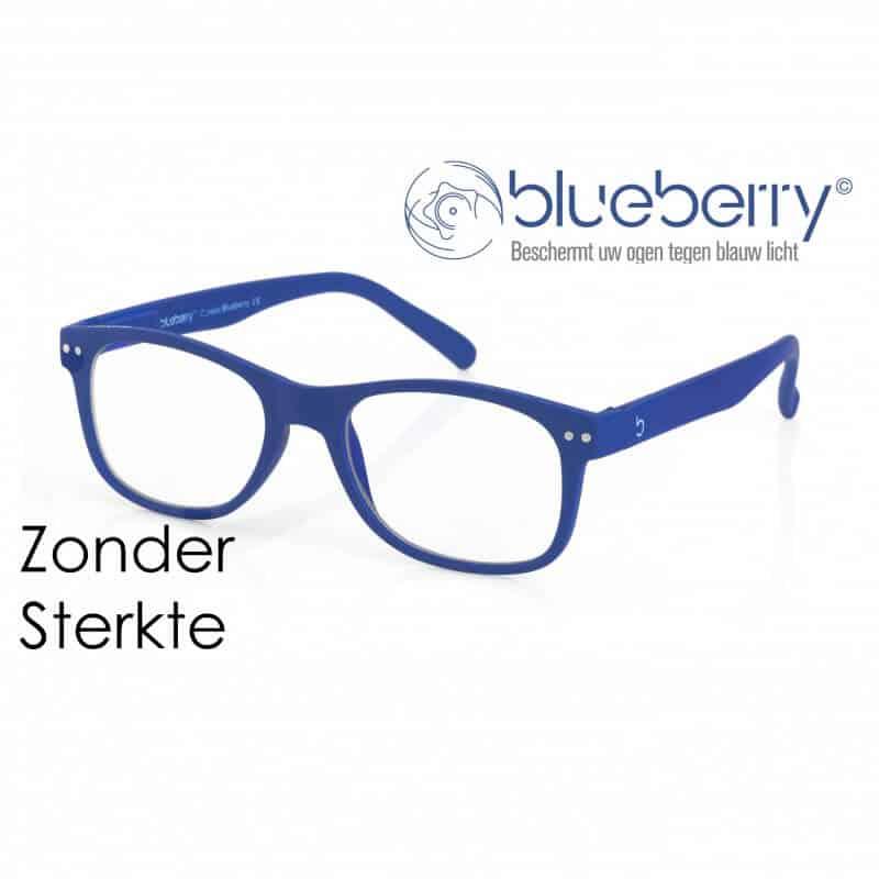 Blueberry Model L – zonder sterkte – Blauw