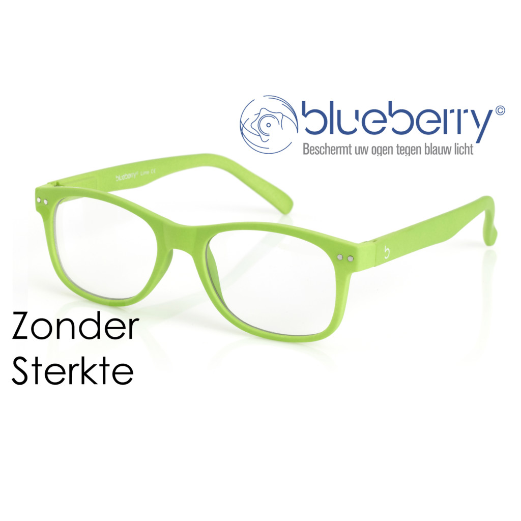 Blueberry Model L – zonder sterkte – Lime