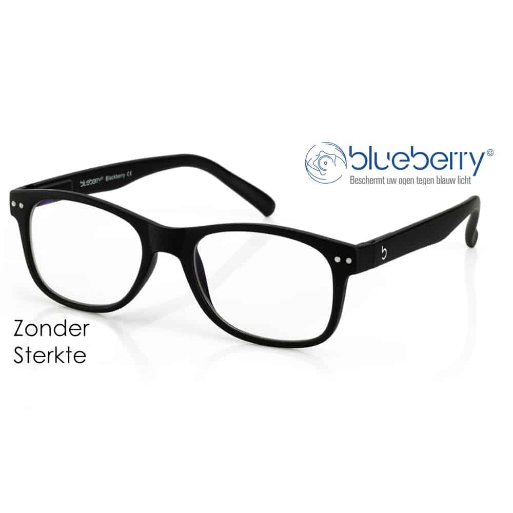 Blueberry Model L – Zwart – Zonder sterkte