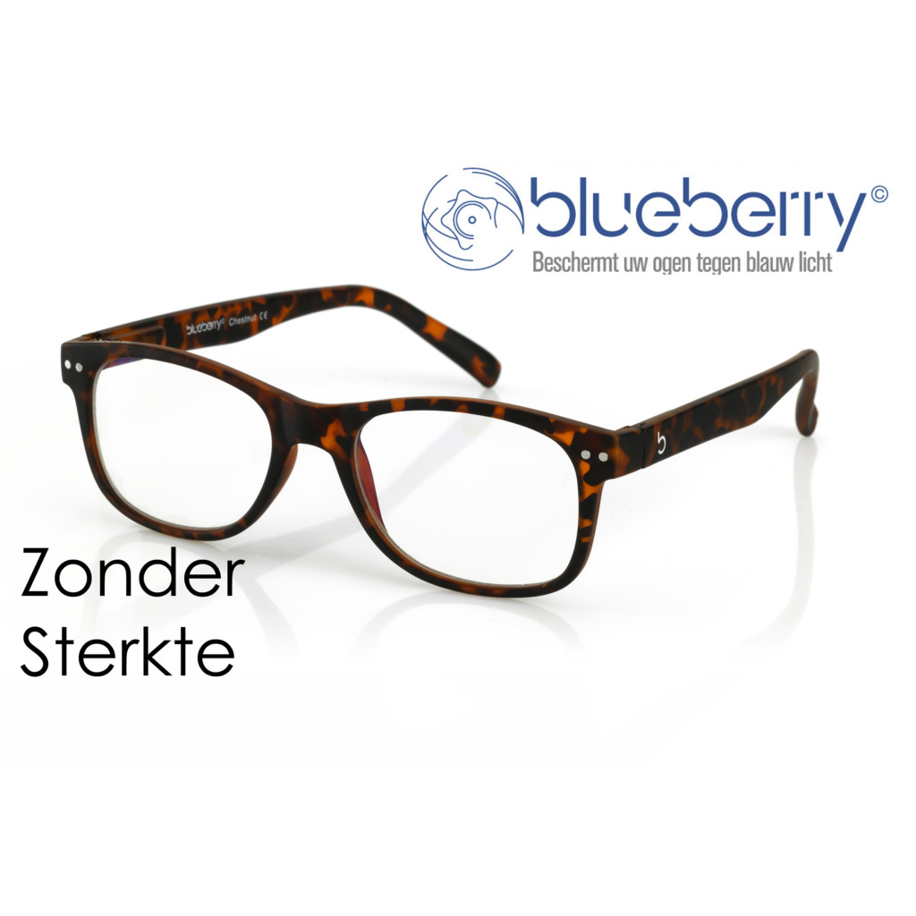 Blueberry Model L – Tortoise – Zonder sterkte