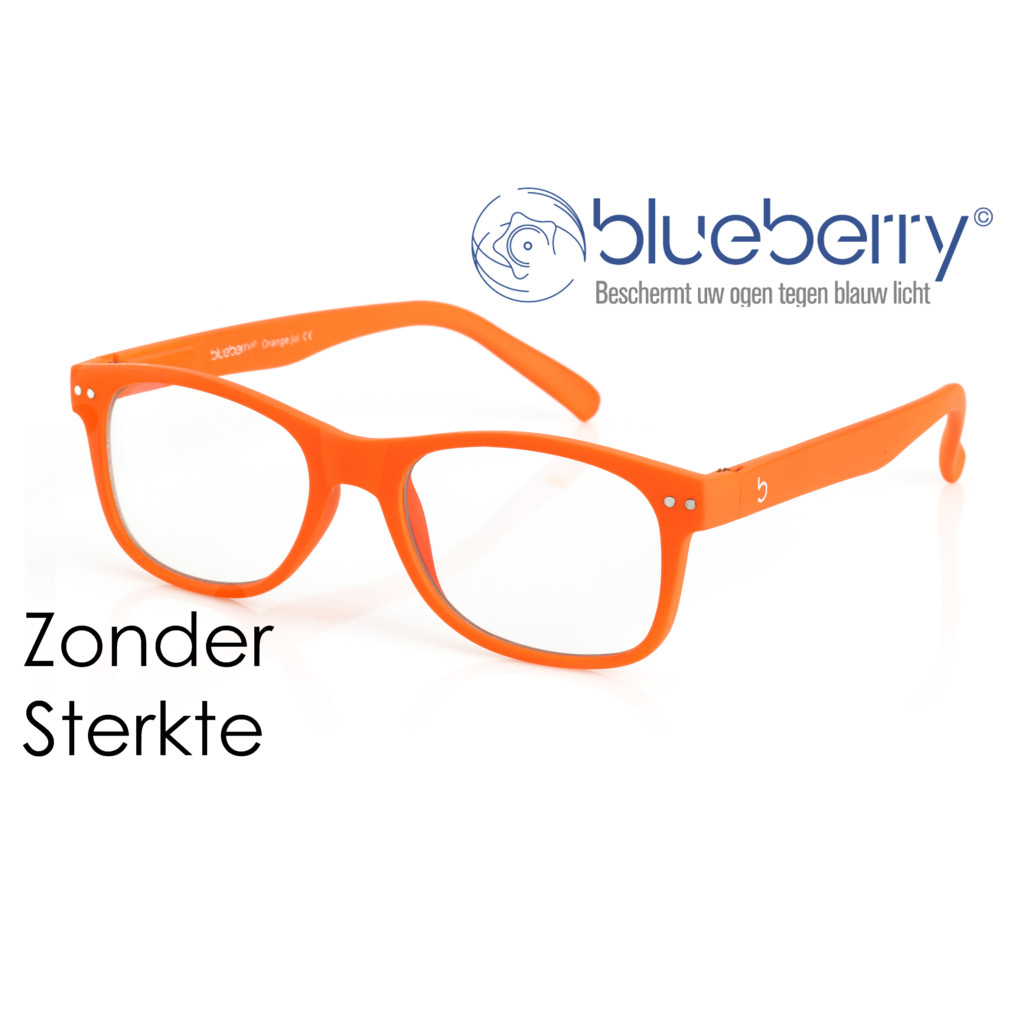 Blueberry Model L – zonder sterkte – Oranje