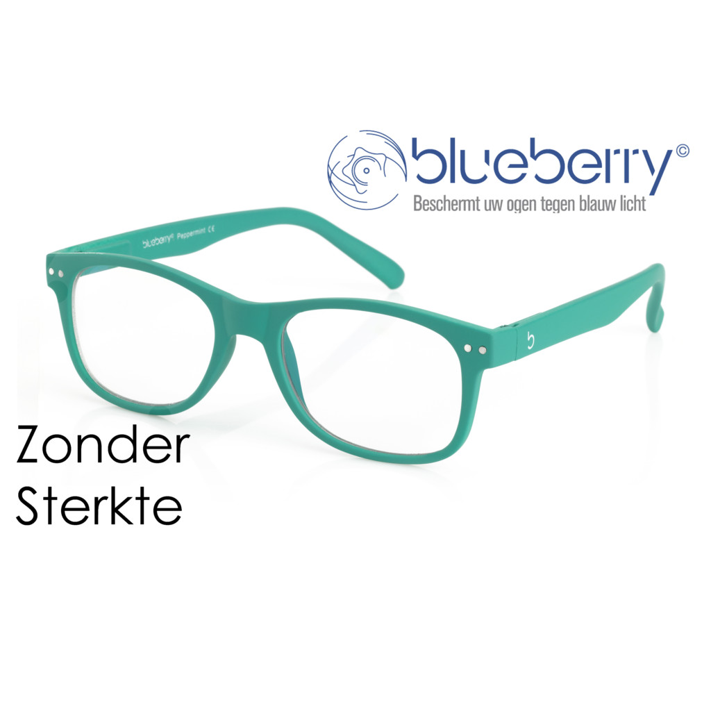 Blueberry Model L – zonder sterkte – Peppermint
