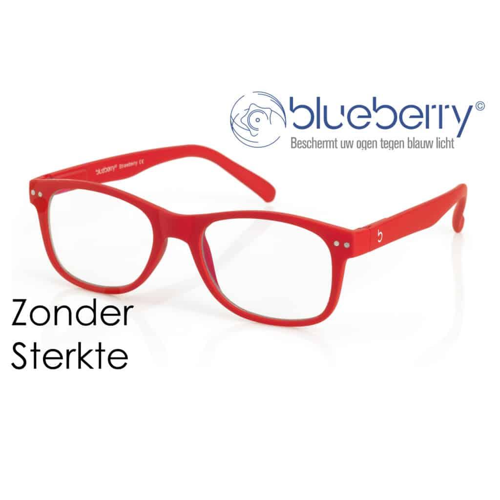 Blueberry Model L – zonder sterkte – Rood