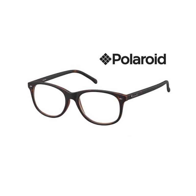 PLD0009.R.Q3V Polaroid Leesbril Square – Havana