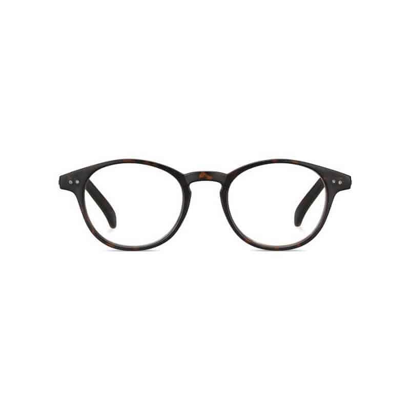 PLD0008.R.Q3V Polaroid Leesbril Rond -Dark Havana
