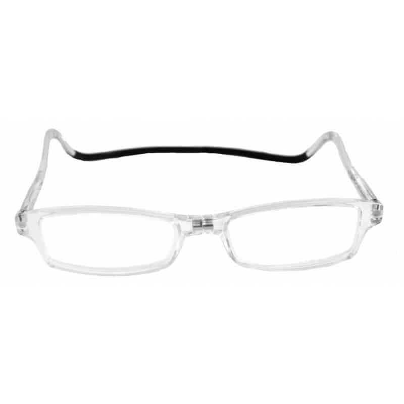Easy Reader Clic magneetbril Transparant
