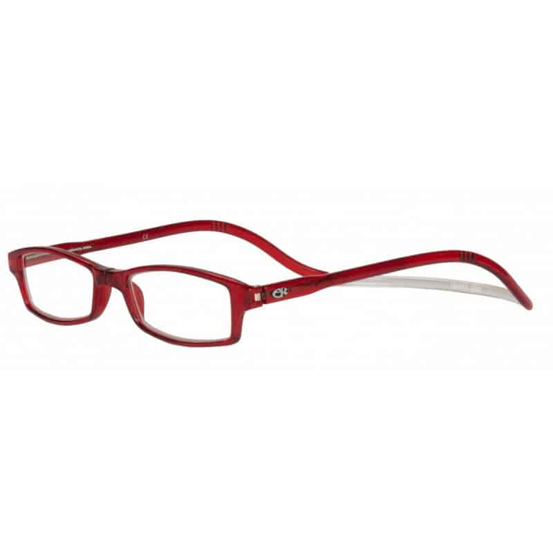 Easy Reader Clic magneetbril Rood
