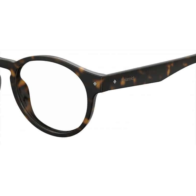 PLD0021/R.086 Polaroid Leesbril Rond – Havana