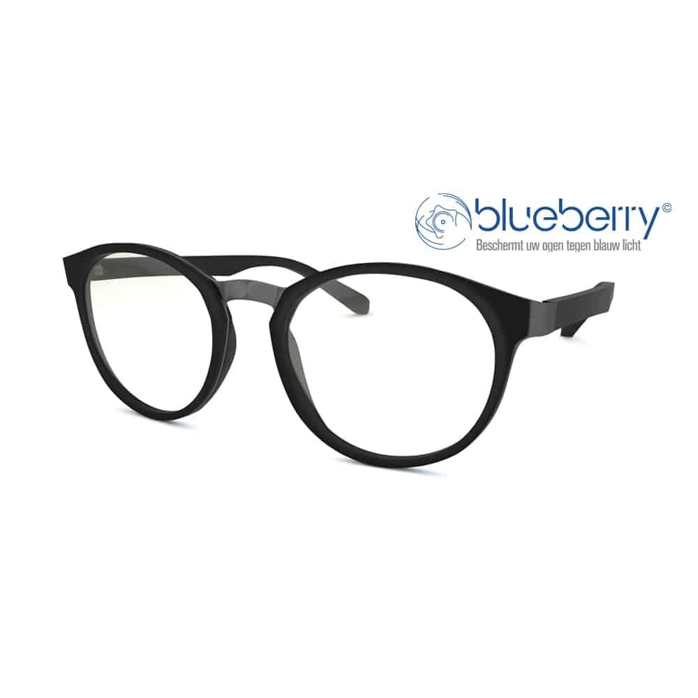 Blueberry OZY Model M – Multifocale Beeldschermbril – Zwart