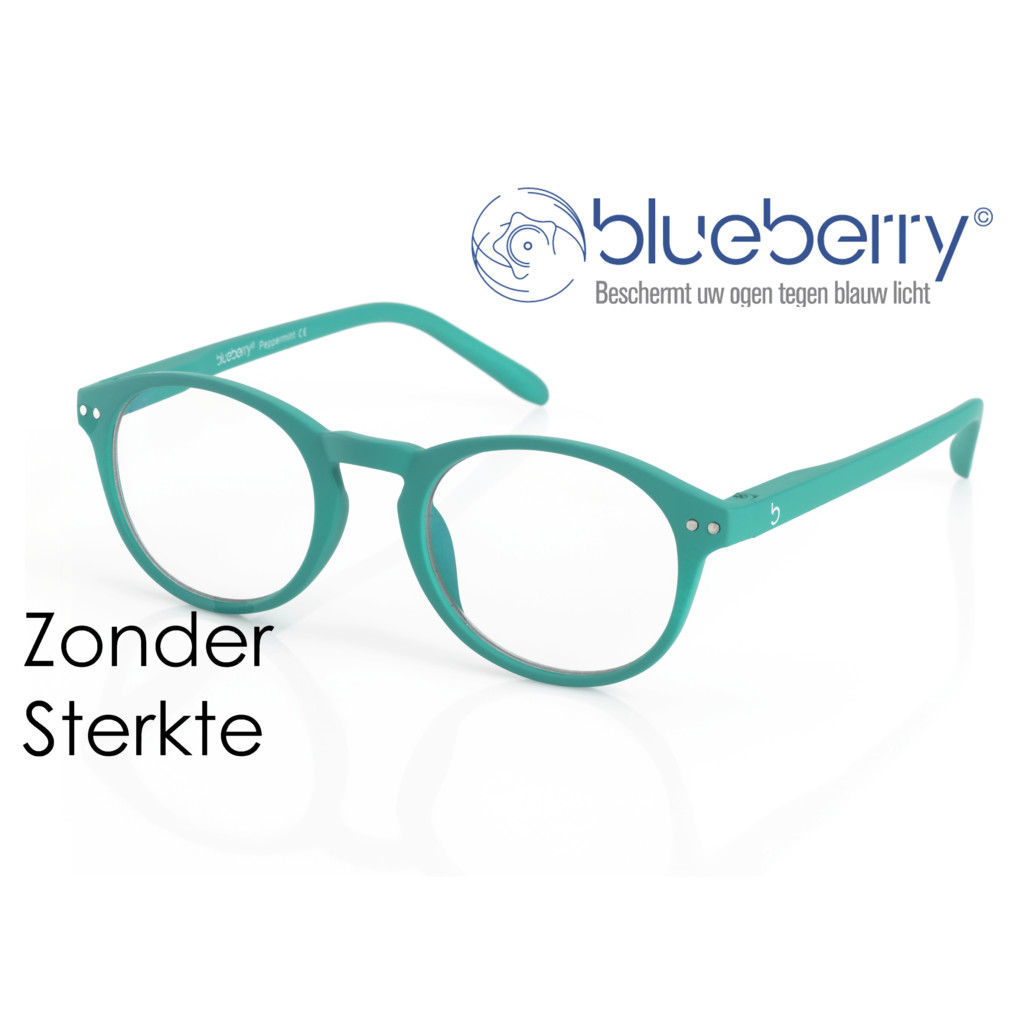 Blueberry model M – zonder sterkte – Peppermint
