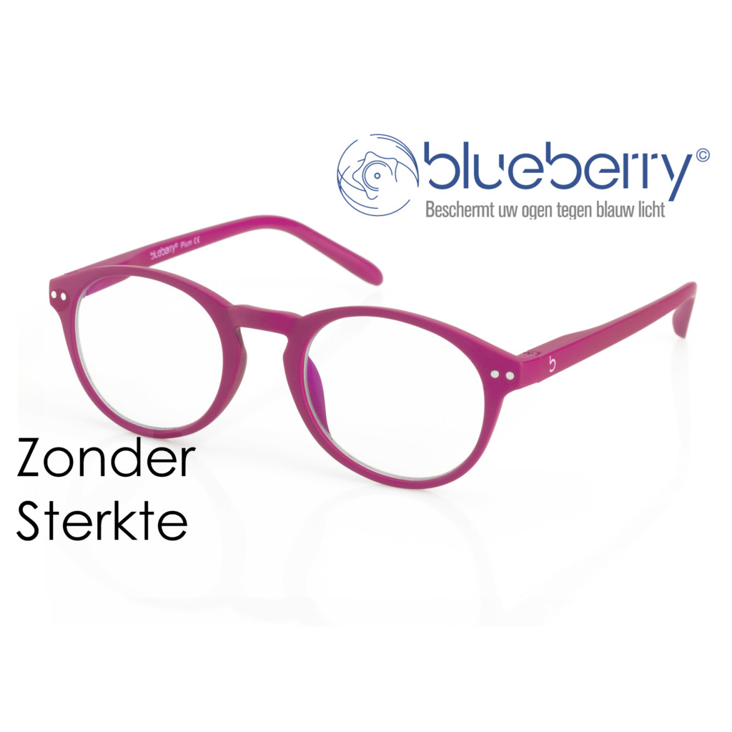 Blueberry model M – zonder sterkte – Fuchsia