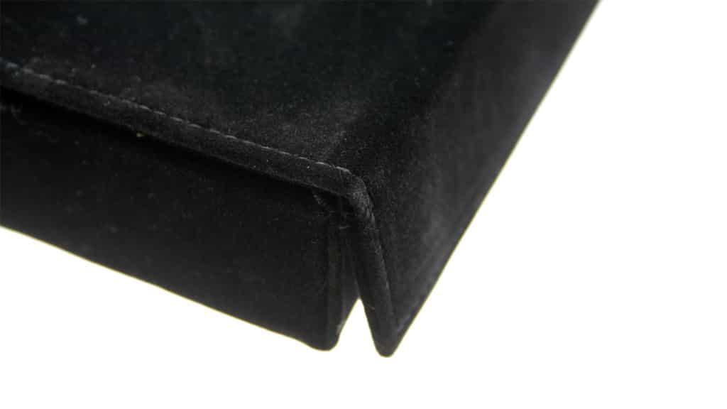 POS118 Brillenbox 3 pcs. – Zwart fluweel
