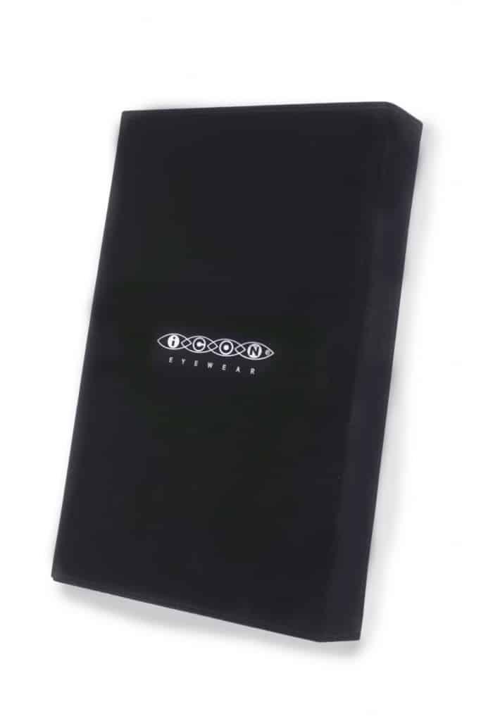 POS119 Brillenbox 5 pcs. Zwart fluweel
