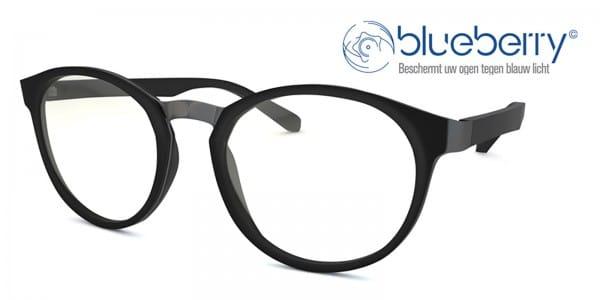 Blueberry OZY Model M Multifocale Beeldschermbril Zwart_image_1